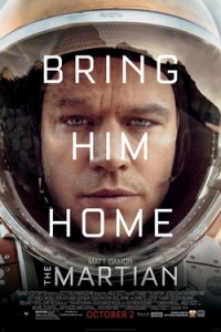Poster for 2015 sci-fi The Martian