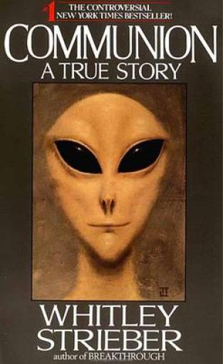 cover of communion by whitley strieber