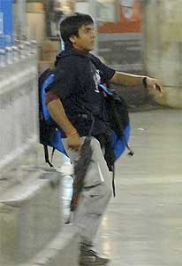 Photograph of Ajmal Kasab, one of the ten terr...