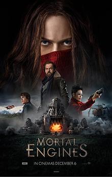 Image result for Mortal Engines poster