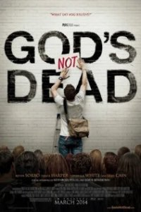 Poster for 2014 Christian drama God's Not Dead