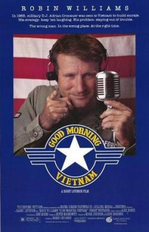 Original Movie Theatrical Release Poster - Good Morning Vietnam - Fair Use