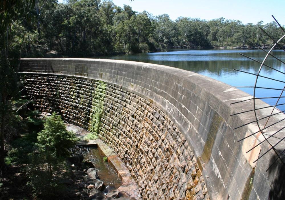 medium resolution of masonry arch wall parramatta new south wales the first engineered dam built in australia