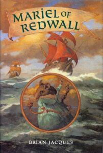 US cover of Mariel of Redwall