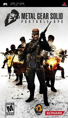 Metal Gear Solid Portable Ops  Wikipedia