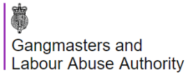 Image result for gangmasters and abuse logo png