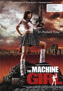 The Machine Girl rules the rampage.