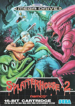 Splatterhouse 2 Sega Genesis cover art
