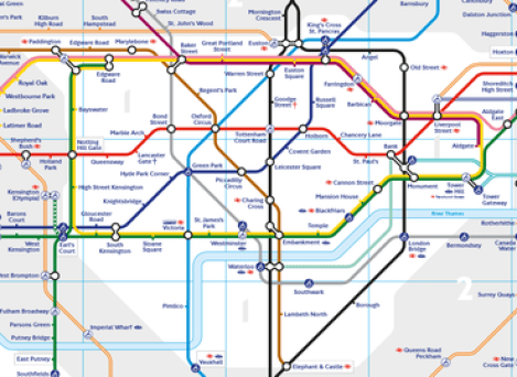Becks Tube Map