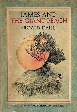 James and the Giant Peach, first edition cover