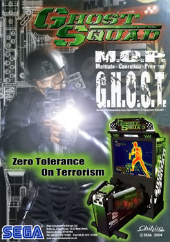 Ghost Squad video game  Wikipedia