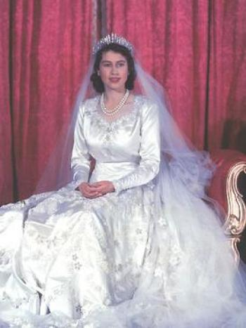Wedding dress of Elizabeth II