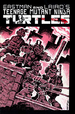 The cover of TMNT #1