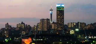 Johannesburg Night Skyline