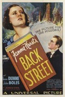 Back Street 1932 film  Wikipedia