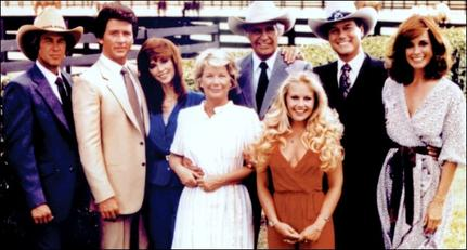The Dallas cast