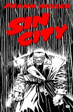 Marv walking through the rain in the The Hard ...