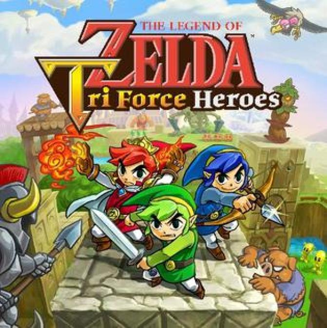 Image result for Tri Force Heroes