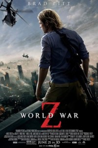 Poster for 2013 action/horror film World War Z