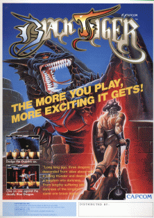Black Tiger video game  Wikipedia