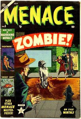 Girl Pages Of Wallpaper Menace Atlas Comics Wikipedia