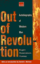Book cover for Out of Revolution Rosenstock-Hu...
