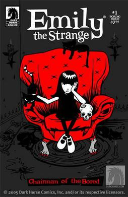 Emily the Strange #1, Dark Horse Comics (Augus...