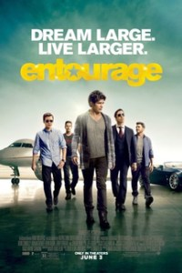 Poster for 2015 dramedy Entourage