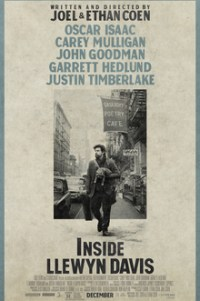 Poster for 2014 musical drama Inside Llewyn Davis