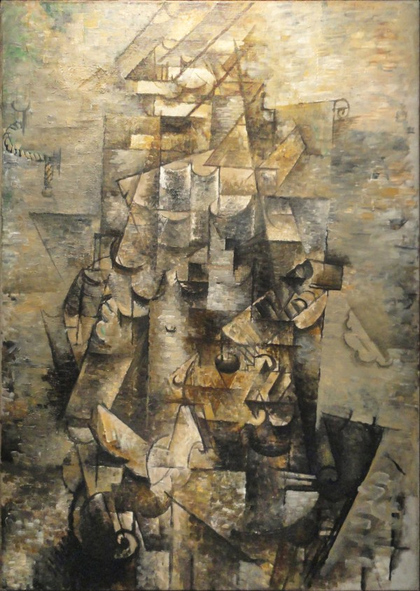 Man with Guitar Georges Braque