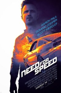 Poster for 2014 video game adaptation Need For Speed