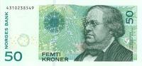 50 kroner (1997), obverse