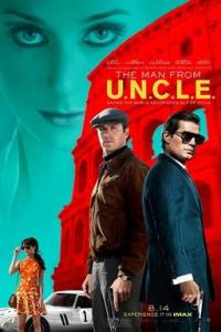 Poster for 2015 action thriller The Man From U.N.C.L.E.