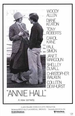 Film poster for Annie Hall - Copyright 1977, U...