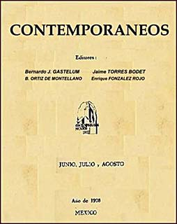 The magazine Contemporáneos was started by Jai...