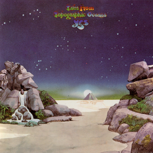 Tales from Topographic Oceans - Roger Dean cover art masterpiece.