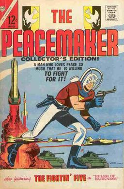 Peacemaker #1 (March 1967), cover art by Pat B...