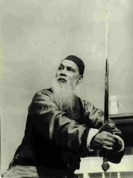 Chinese Muslim martial artist, Wang Zi-Ping wa...