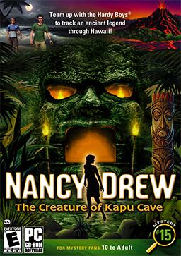 Nancy Drew The Creature Of Kapu Cave Wikipedia