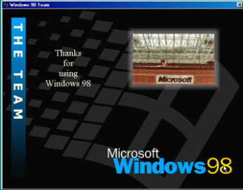Windows 98 Credits Easter Egg | GrecTech