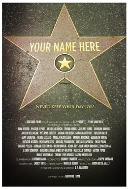 Your Name Here 2015 film  Wikipedia
