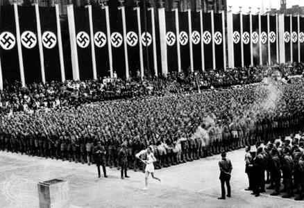 Olympic  torche – Berlin 1936
