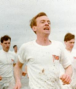 Ian Charleson (foreground) and Ben Cross (left...