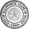 Official seal of Ellsworth, Maine