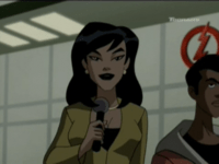 Linda Park as she appears in Justice League Un...