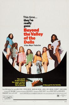 Beyond the Valley of the Dolls poster; image courtesy of wikipedia.org