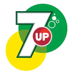 7 Up logo used by PepsiCo outside the USA.