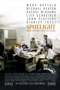 Poster for 2016 journalism drama Spotlight