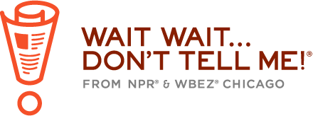 The logo of National Public Radio's Wait Wait....
