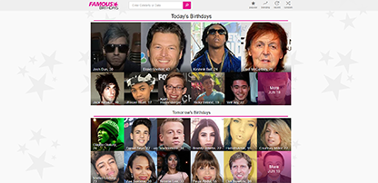 famous birthdays wikipedia